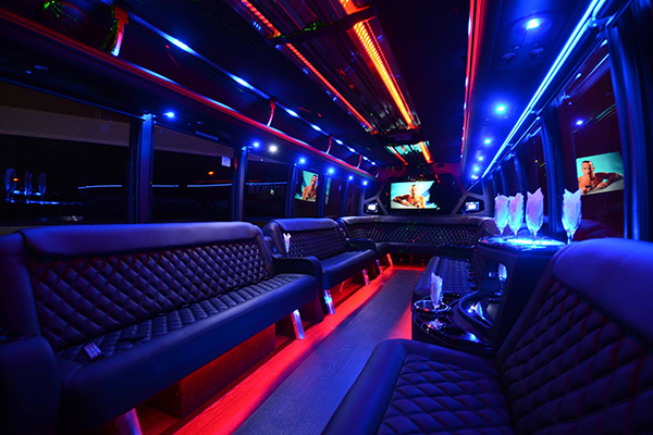 40 Person Party Bus Rental Naples