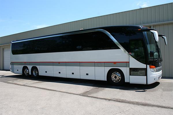Naples 56 Passenger Charter Bus